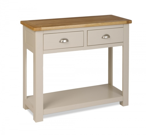 Northport Stone 2 Drawer Console Table