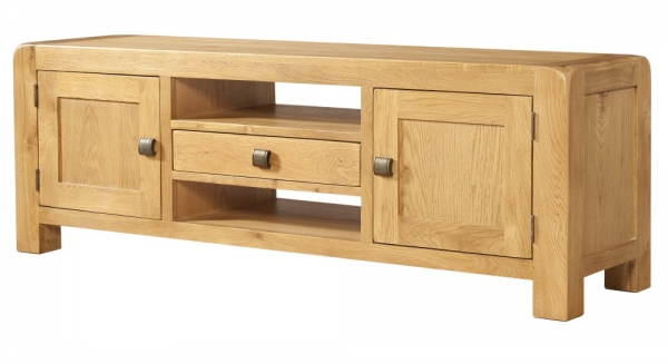 Avon Oak Wide TV Unit