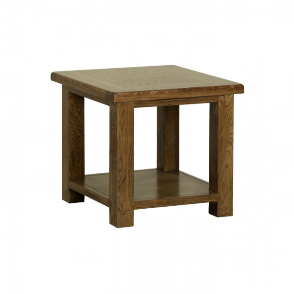 Rustic Oak Small Coffee Table