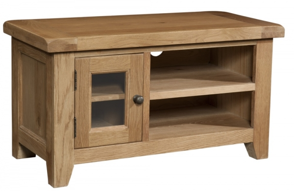 Suffolk Oak TV unit