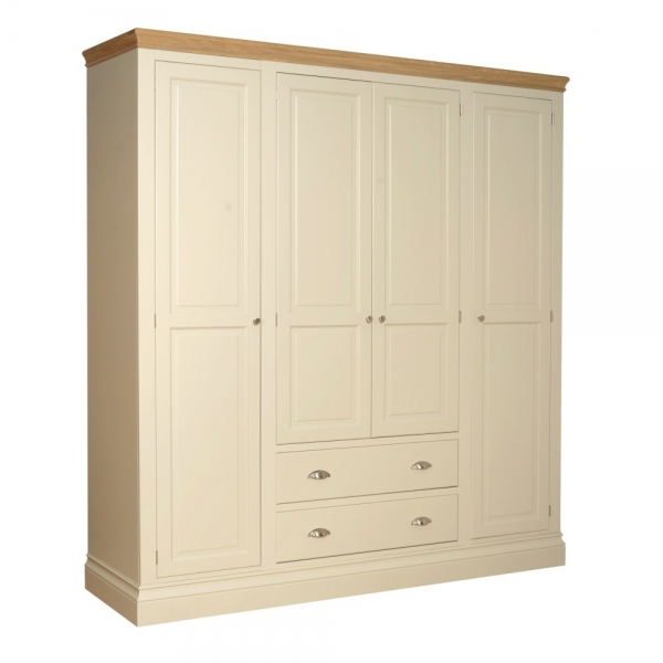 Lundy Quad Wardrobe with Drawers
