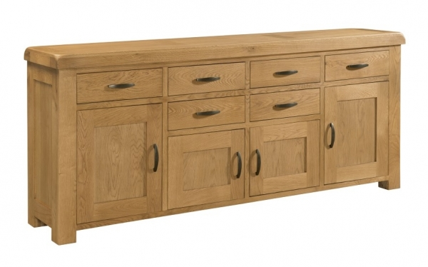 Clovelly Oak Extra Large Sideboard