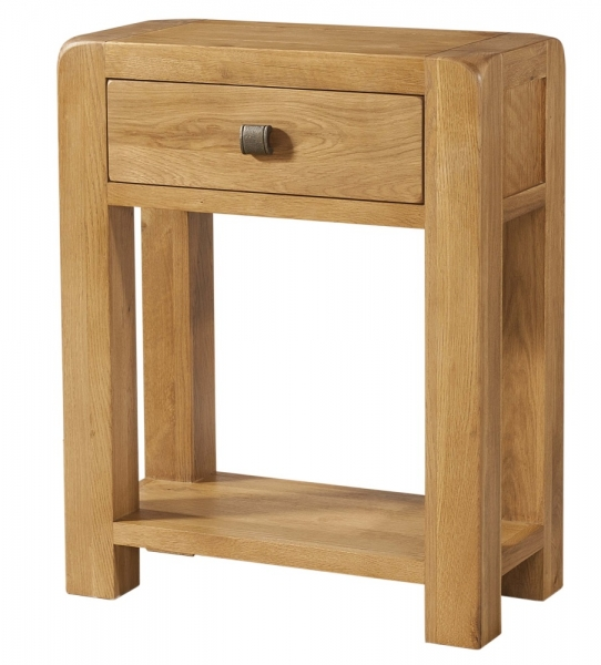 Avon Oak 1 Drawer Console Table