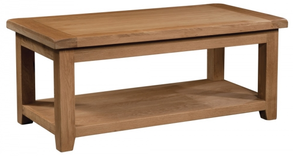 Suffolk Oak large coffee table