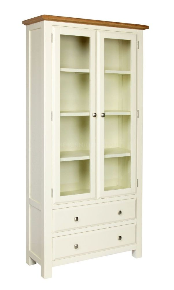 Cotswold Painted Glazed Display Cabinet
