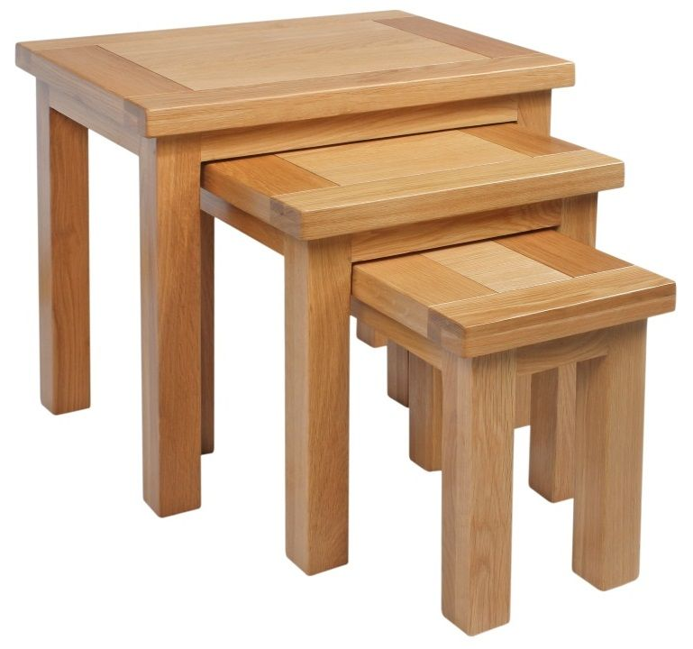 Dorset Oak Nest of Tables