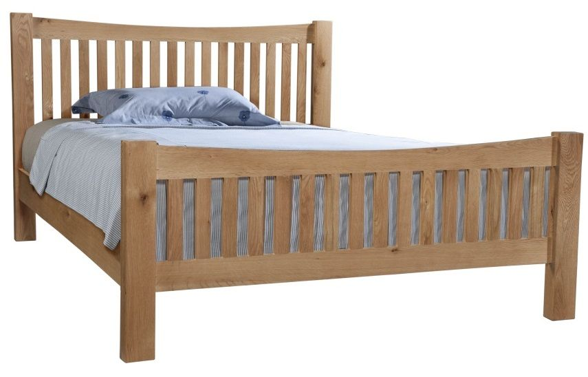 Dorset Oak King Size Bed