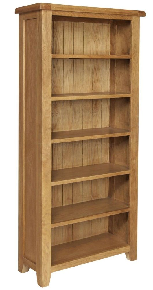 Hereford Oak Large Bookcase