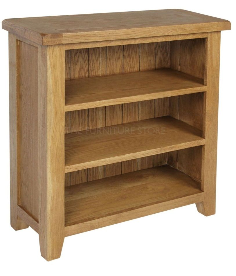 Hereford Oak Small Bookcase