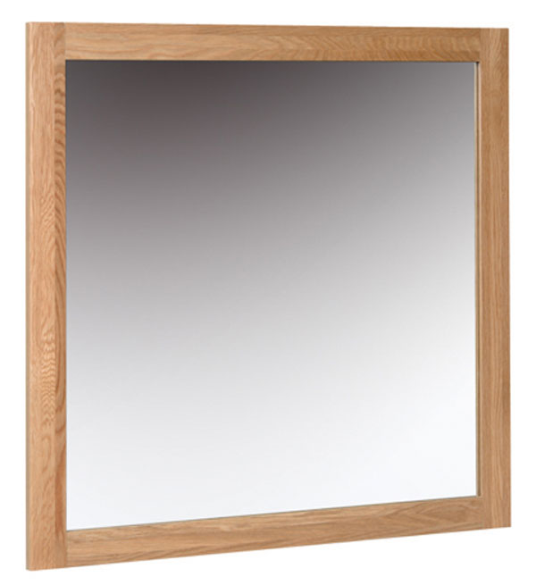 New Oak 900 x 900 Mirror
