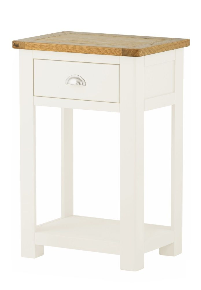 Northport White Small Console Table