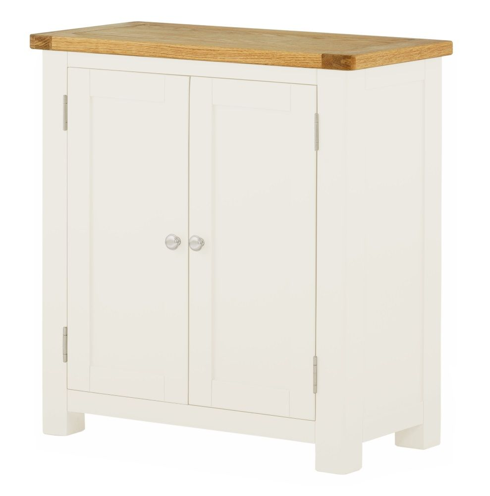 Northport White 2 Door Cupboard