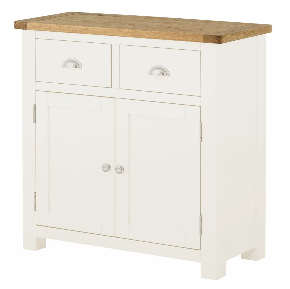 Northport White 2 Door 2 Drawer Sideboard