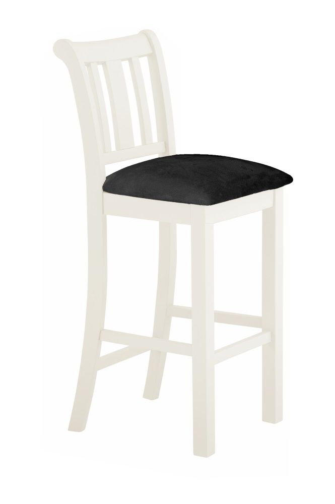 Northport White Bar Stool