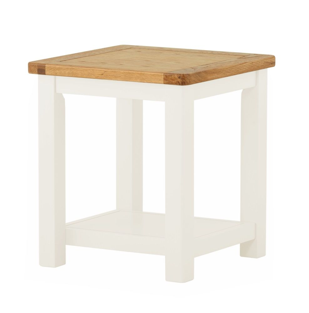 Northport White Lamp Table