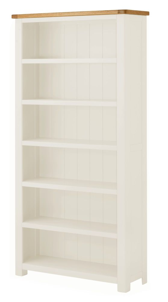 Northport White Large Bookcase