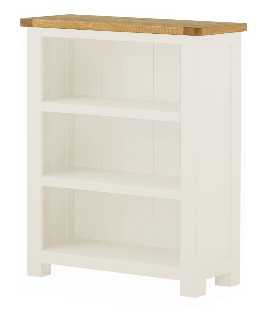 Northport White Small Bookcase