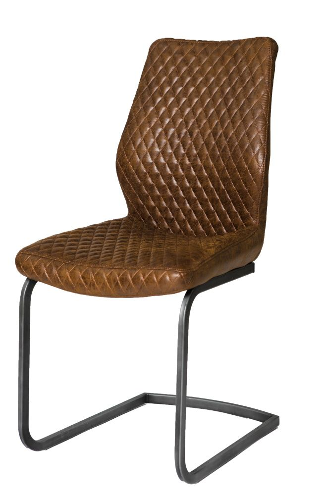 Retro Dining Chair Antique Brown