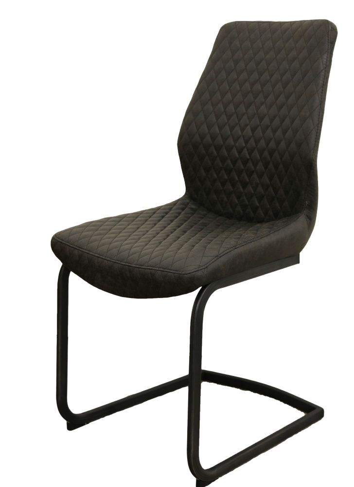 Retro Dining Chair Grey