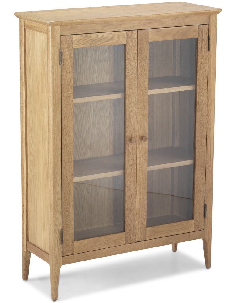 Waverley Oak Glazed Display Cabinet