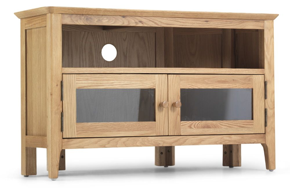 Waverley Oak Corner TV unit with Doors