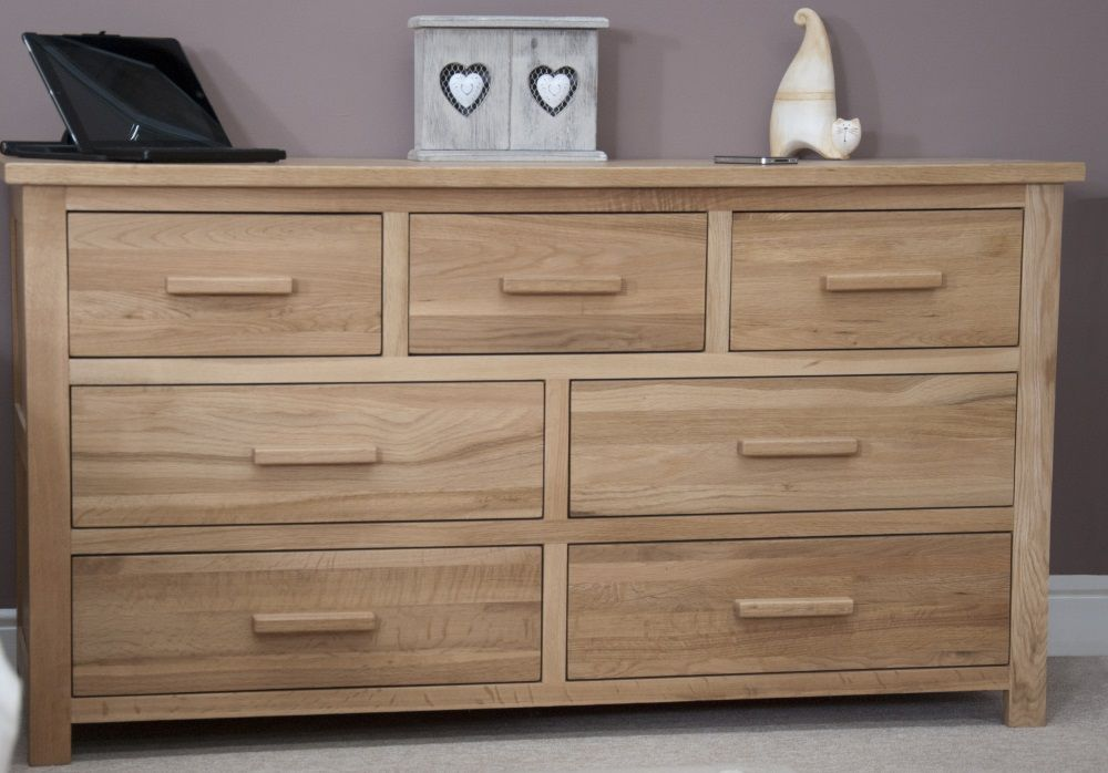 Opus Oak 7 Drawer Multichest
