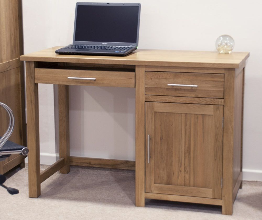 Opus Oak Computer Desk
