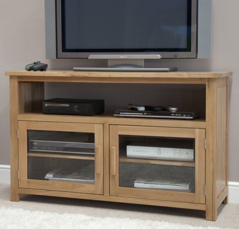 Opus Oak Entertainment Cabinet