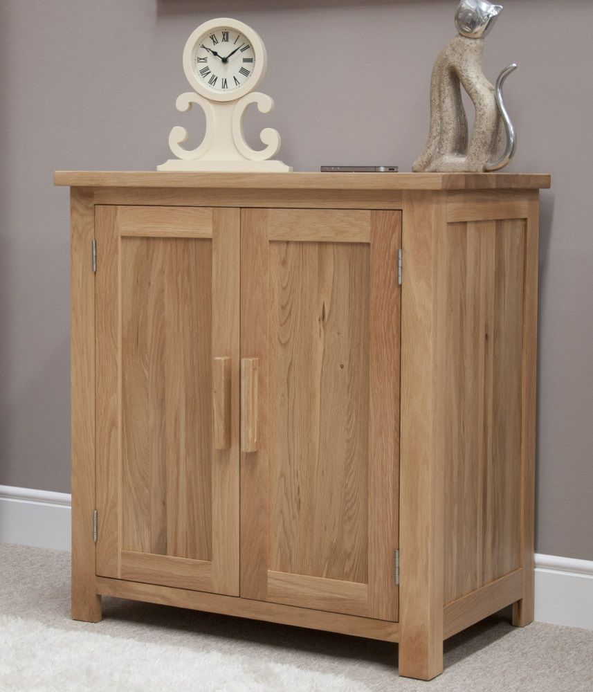 Opus Oak Small Cupboard