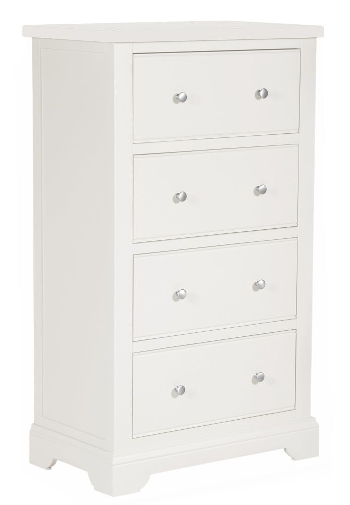 Boston Painted 4 Drawer Tall Chest