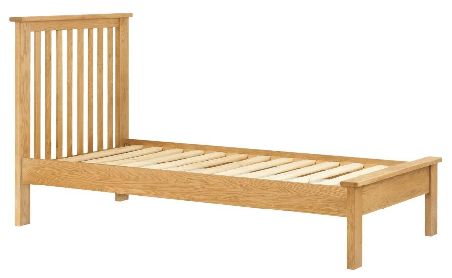 Northport Oak Single Bed