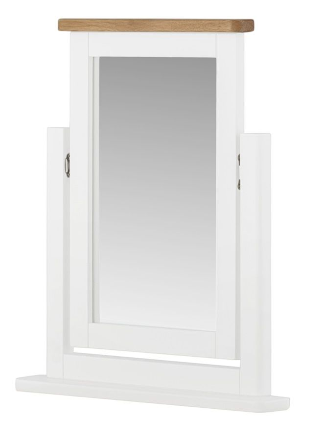 Northport White Vanity Mirror