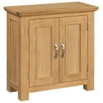 Siena Oak Small Cupboard