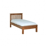 Rustic Oak 3  Low End Bed