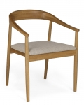 Malmo Oak Carver Chair