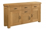 Clovelly Oak Large Sideboard