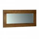 Rustic Oak Wall Mirror 1300 x 600