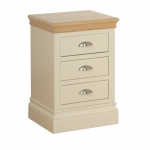 Lundy 3 Drawer Bedside