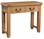Suffolk Oak 2 drawer console table