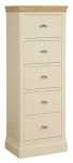 Lundy 5 Drawer Jumper Wellington Chest