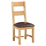 New Oak Ladder-back Chair 2 rungs
