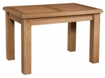 Suffolk Oak 4  extending dining table - 1 leaf
