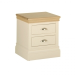 Lundy 2 Drawer Bedside