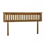 Rustic Oak 6  Headboard
