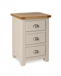 Northport Stone 3 Drawer Bedside
