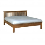 The Rustic Oak 6  Low End Bed