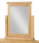 Avon Oak Vanity Mirror