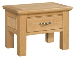 Siena Oak Side Table with Drawer