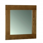 Rustic Oak Wall Mirror 900 x 900