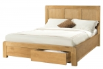 Avon Oak King Size Bed